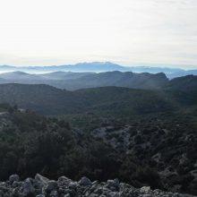 le Canigou vu du mont Perellos