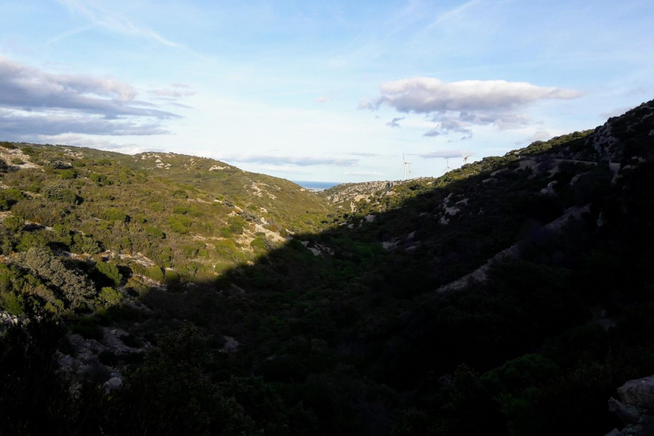 La route Feuilla Opoul